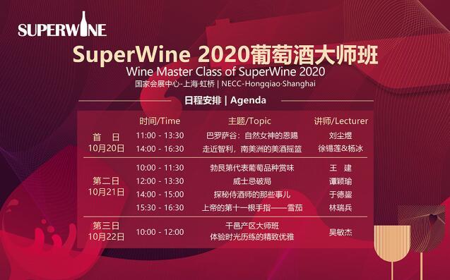 SuperWine葡萄酒及烈酒展