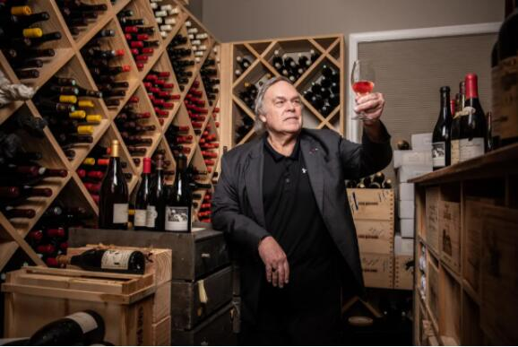 """著名酒评家,""""葡萄酒皇帝""""罗伯特帕克"""