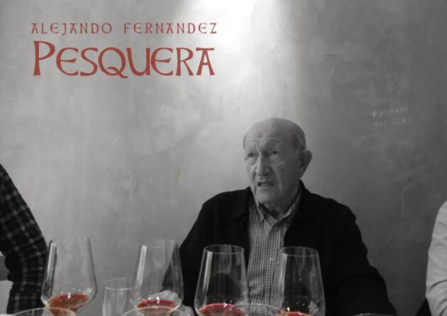 西班牙Pesquera酒庄庄主Alejandro Fernandez离世