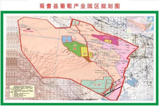 焉耆盆地葡萄种植产业规划图